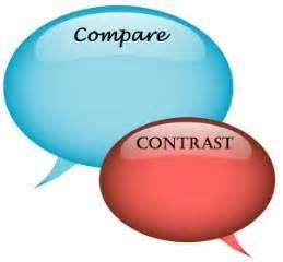 Make outline compare contrast essay