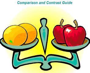 How to write a compare contrast essay 2 poems